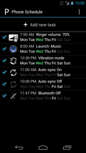 schedule android