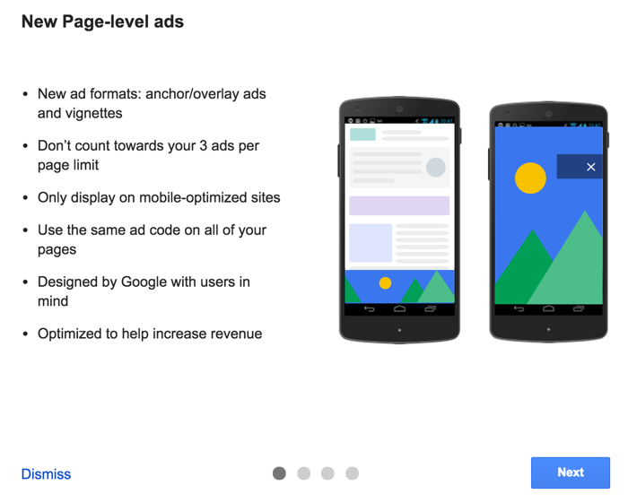AdSense Page-level-ads